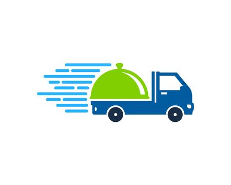 Menu Delivery Logo Icon Design
