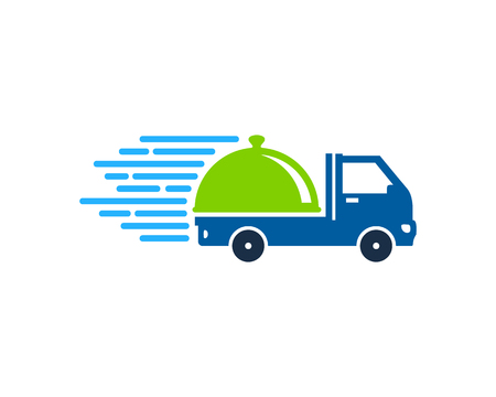 Menu Delivery Logo Icon Design Archivio Fotografico - 101049830