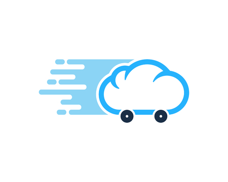 Atmosphere Delivery Logo Icon Design