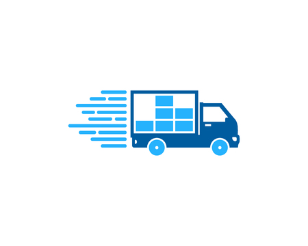 Data Delivery Logo Icon Design