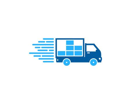 Data Delivery Logo Icon Design