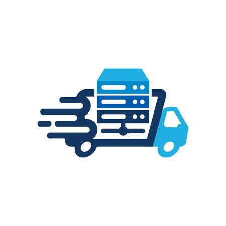 Network Delivery Logo Icon Design