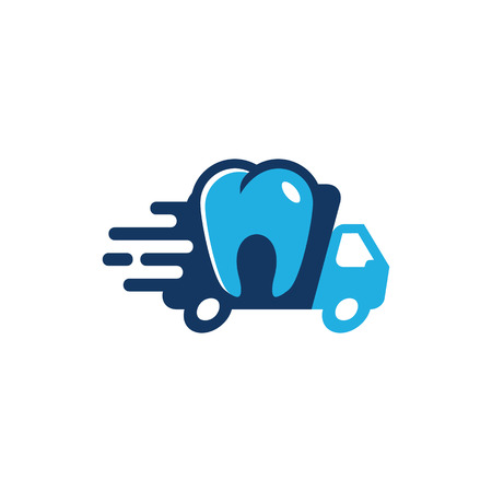 Dental Delivery Logo Icon Design
