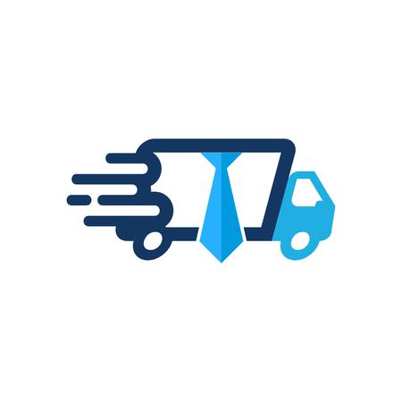 Job Delivery Logo Icon Design