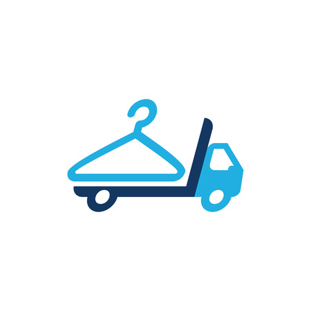 Laundry Delivery Logo Icon Design