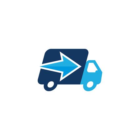 Arrow Delivery Logo Icon Design
