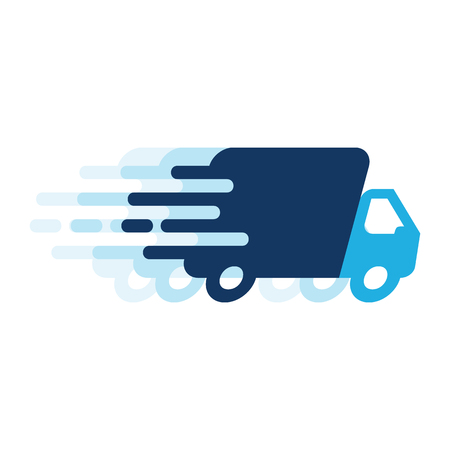 Delivery Logo Icon Design Standard-Bild - 101057512