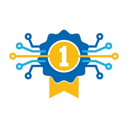 Best Digital Logo Icon Design Illustration
