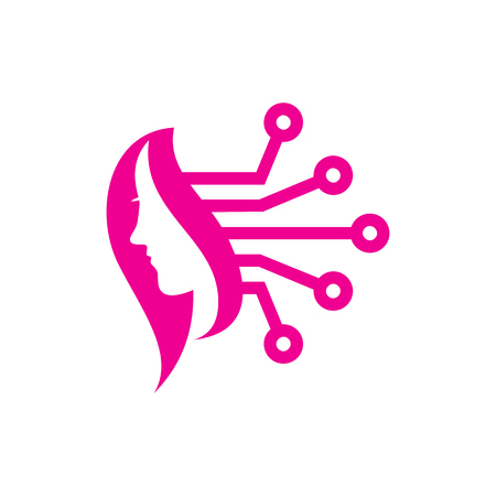 Beauty Digital Logo Icon Design
