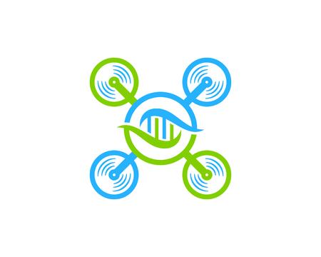 Fly Dna Logo Icon Design