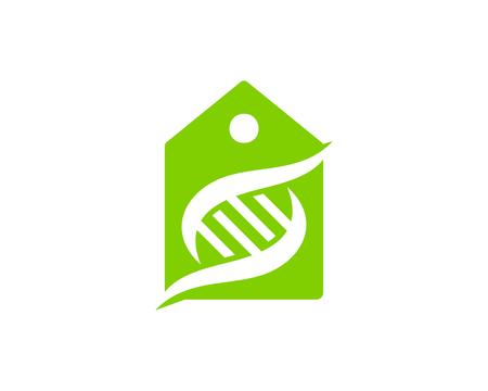 Sticker Dna Logo Icon Design