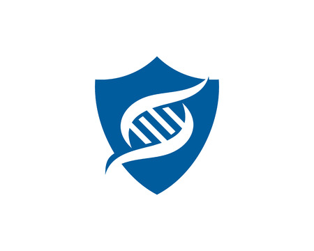 Protect Dna Logo Icon Design