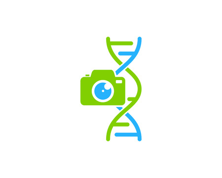 Capture Dna Logo Icon Design