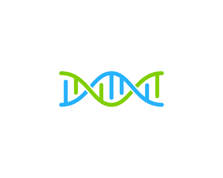 Dna Logo Icon Design