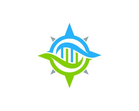 Navigation Dna Logo Icon Design