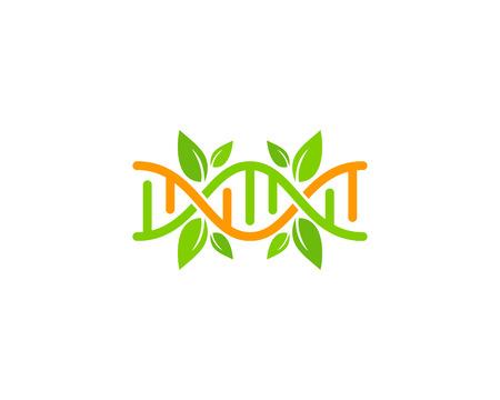 Natural Dna Logo Icon Design