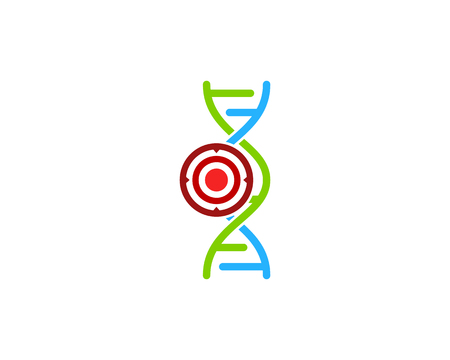Strategy Dna Logo Icon Design Stock Illustratie