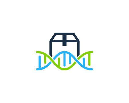 Box Dna Logo Icon Design