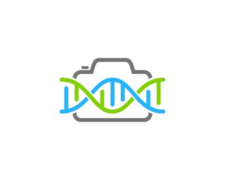 Photo Dna Logo Icon Design Stock Vector - 101089671