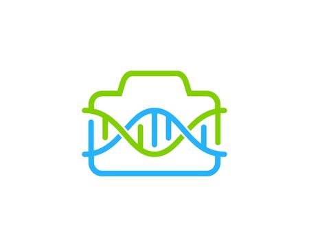 Photography Dna Logo Icon Design