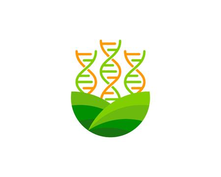 Field Dna Logo Icon Design