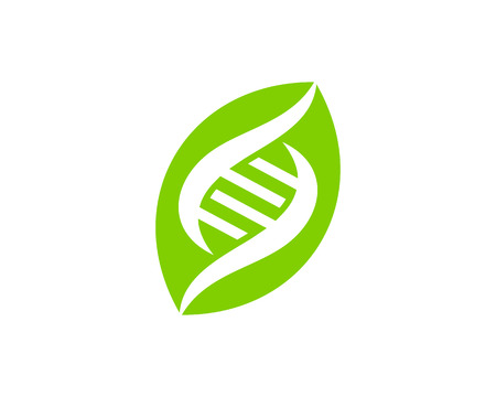 Plant Dna Logo Icon Design Illustration