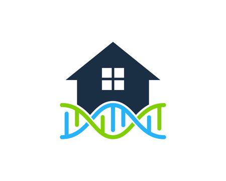 Estate Dna Logo Icon Design Banco de Imagens - 101089438