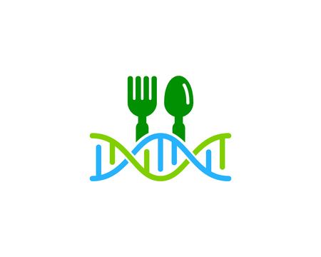 Restaurant Dna Logo Icon Design