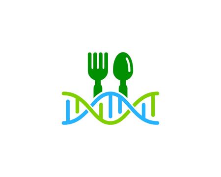 Restaurant Dna Logo Icon Design