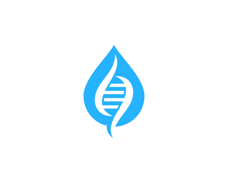 Drop Dna Logo Icon Design