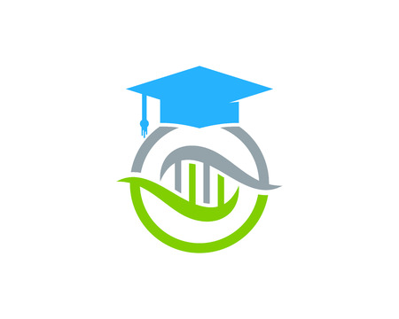 Education Dna Logo Icon Design