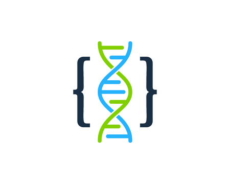 Code Dna Logo Icon Design