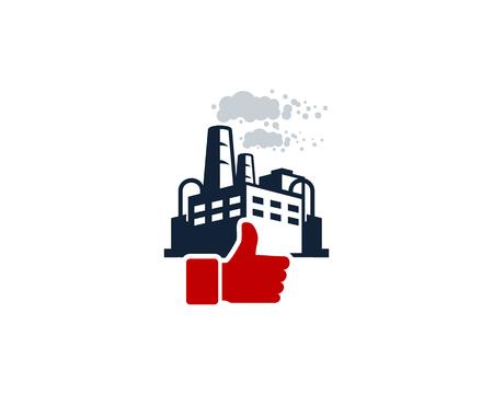 Top Factory Logo Icon Design