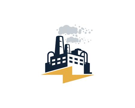 Energy Factory Logo Icon Design