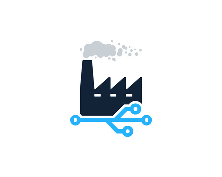 Digital Factory Logo Icon Design