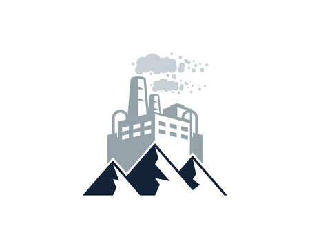 Mountain Factory Logo Icon Design