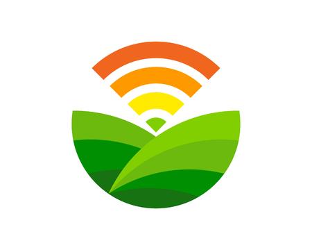 Agriculture Logo Icon Design Ilustração