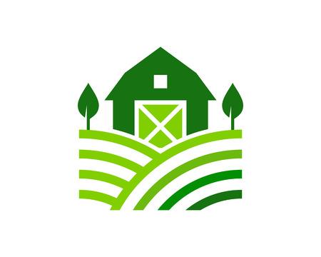Agriculture Logo Icon Design Vettoriali