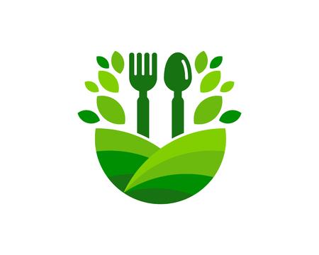 Restaurant Logo Icon Design