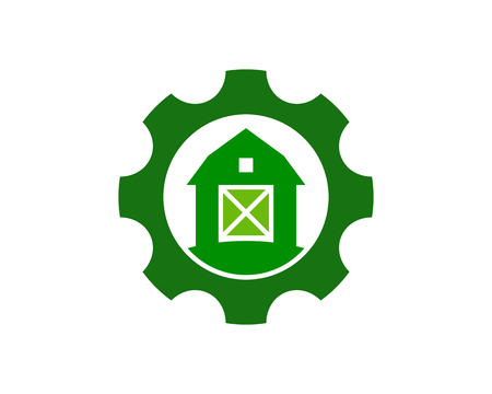 Gear Logo Icon Design Illustration