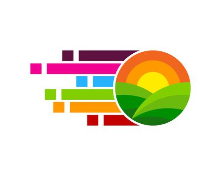Pixel Logo Icon Design