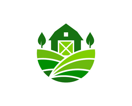 Farm icon design. Ilustração