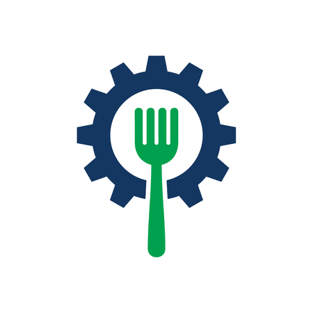Wheel Food Logo Icon Design
