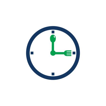 Time Food Logo Icon Design