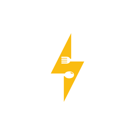 Energy Food Logo Icon Design