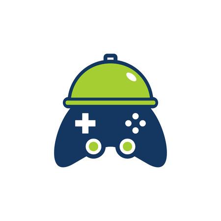 Menu Game Logo Icon Design