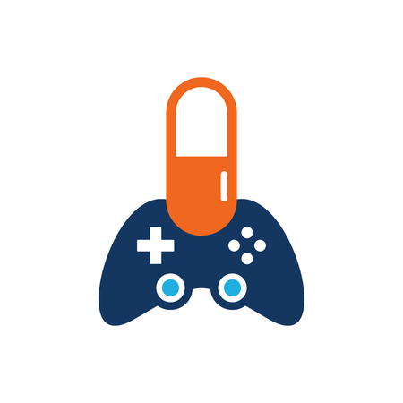 Medicine Game Logo Icon Design