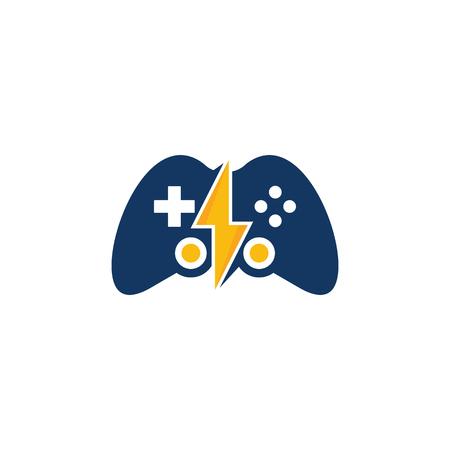 Energy game icon design.