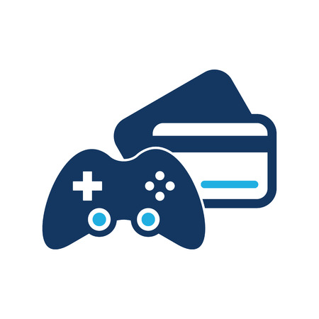 Payment Game Logo Icon Design 向量圖像
