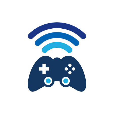 Wifi Game Logo Icon Design